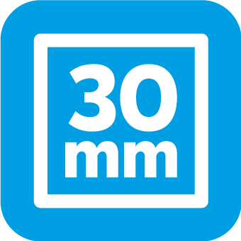 Profilstärke 30x30mm